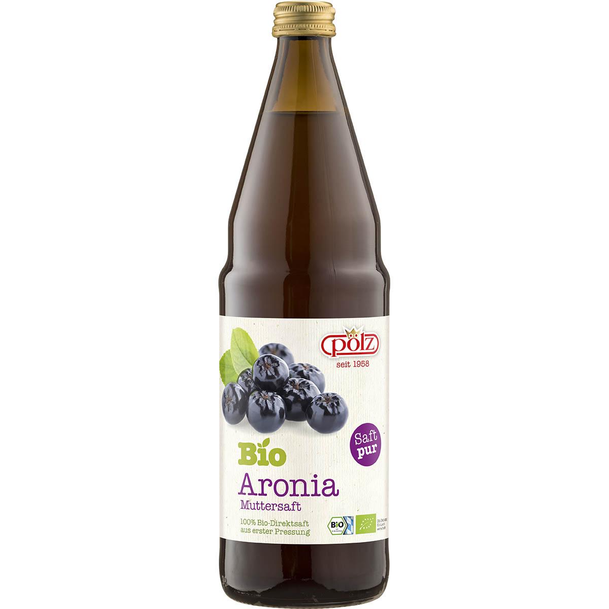 Pölz Bio Aronia Muttersaft 0,75 l